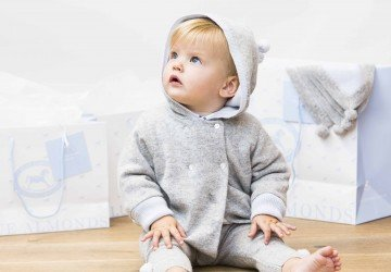 Kids style: The cashmere collection from luxury baby boutique Blue Almonds