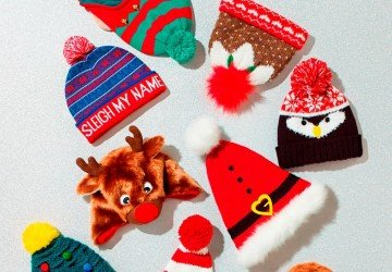 Here's the perfect reason to wear a novelty hat this Christmas