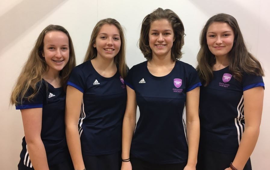England pathway call up for Queen's girls