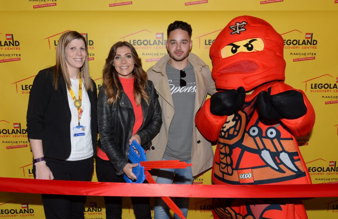 Manchester Celebrities Officially Open 'All New' LEGOLAND® Discovery Centre Manchester