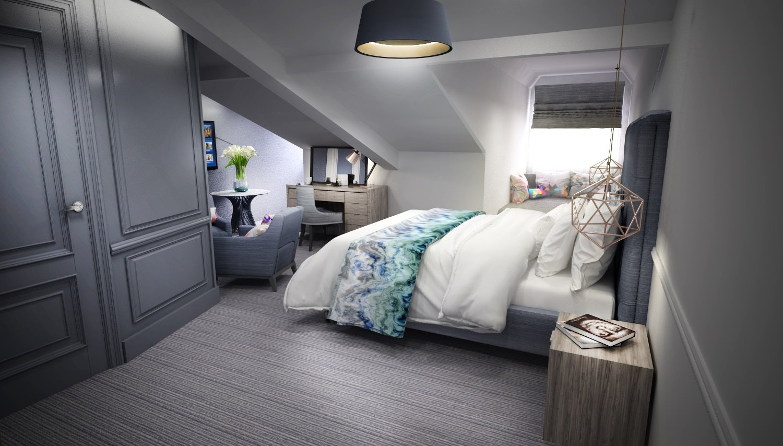 Loft bedroom 01