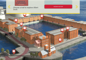 Albert Dock Liverpool launches exciting new digital heritage trail