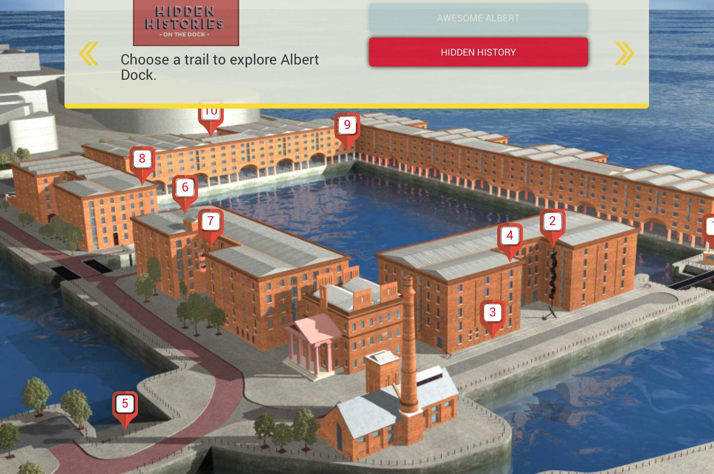 Albert Dock Hidden Histories launching May 2017 at Albert Dock Liverpool47365