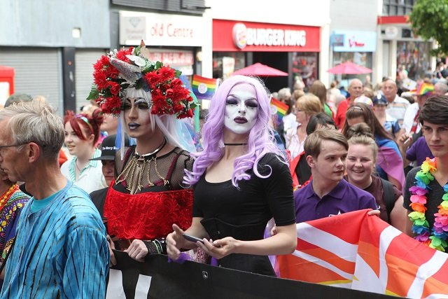 Pride March Images from 2016 x 4 Credit David Munn Photography59150
