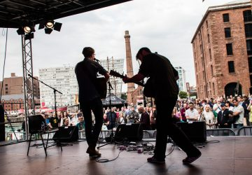 Albert Dock Liverpool 26-28 August: World-class acts confirmed for the international Folk on the Dock music festival