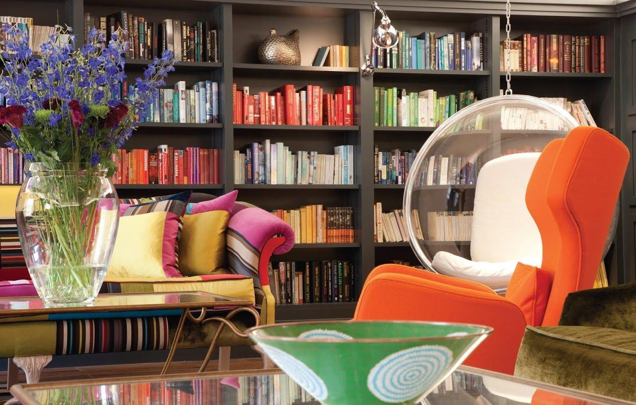 Hotel Library at Rudding Park Hotel Spa Golf
