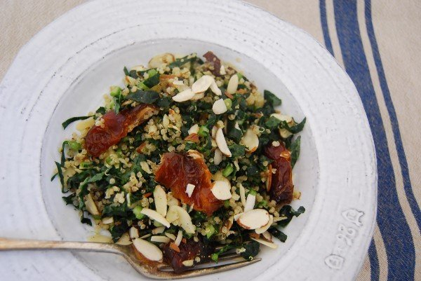 Palm Springs Date and Kale Salad