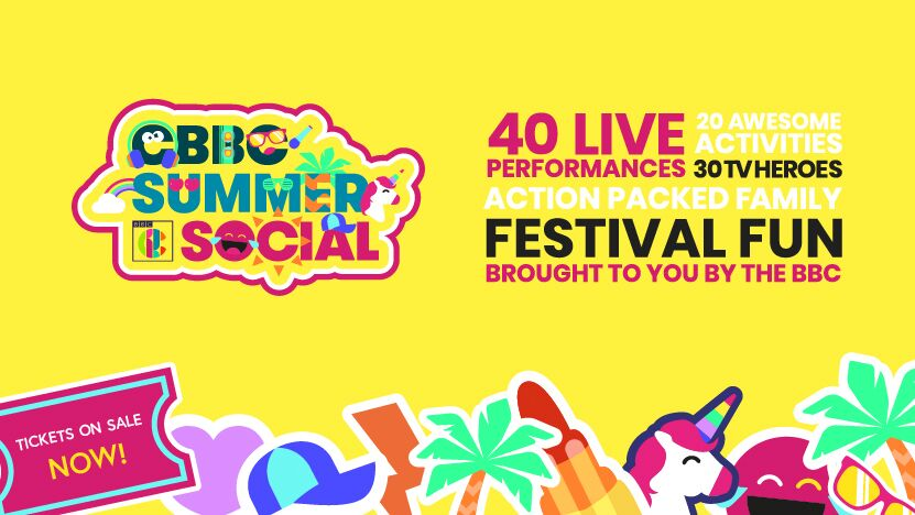 CBBC SUMMER SOCIAL ADDS MORE ACTS TO ITS STELLAR LINE-UP AS JUNIOR FROOD, OPERATION OUCH, BBC INTRODUCING AND PARENTFOLK CHILL ZONE REVEALED