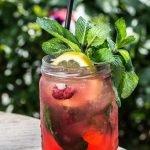 Raspberry Mint Lemonade 3
