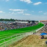 Crowds gather at Chester Racecourse for the annual fixture of family fun