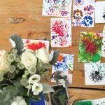 Flower craft was one of many activities on offer courtesy of ParentFolk.