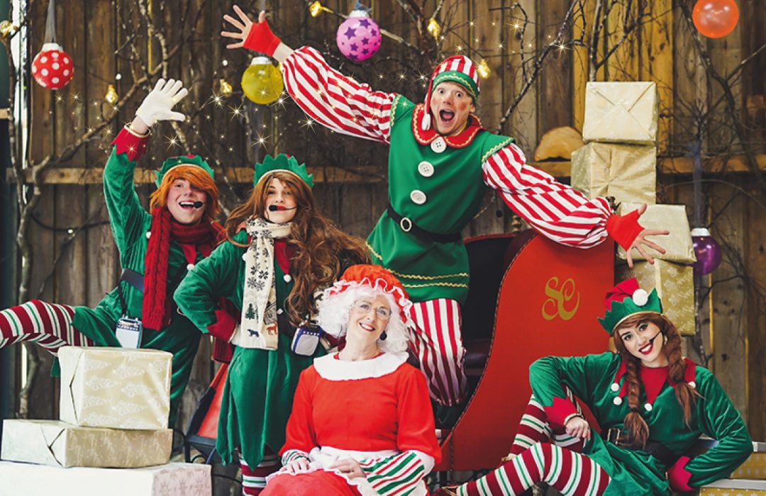 Make Christmas a Spellbinding Adventure this year at Blakemere Village