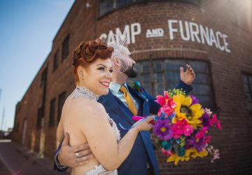 Giant showcase marks the return of weddings to city's favourite venue