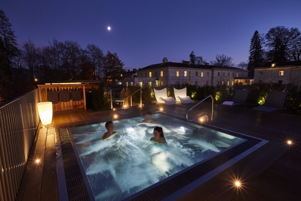 Rudding Park Spa Bath Twilight
