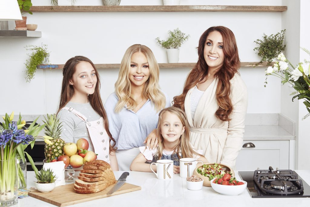The Healthy Happy Mum Plan by Katie Piper and TerriAnn Nunns is available for £39.99 at www.thehealthyhappymumplan.co 22
