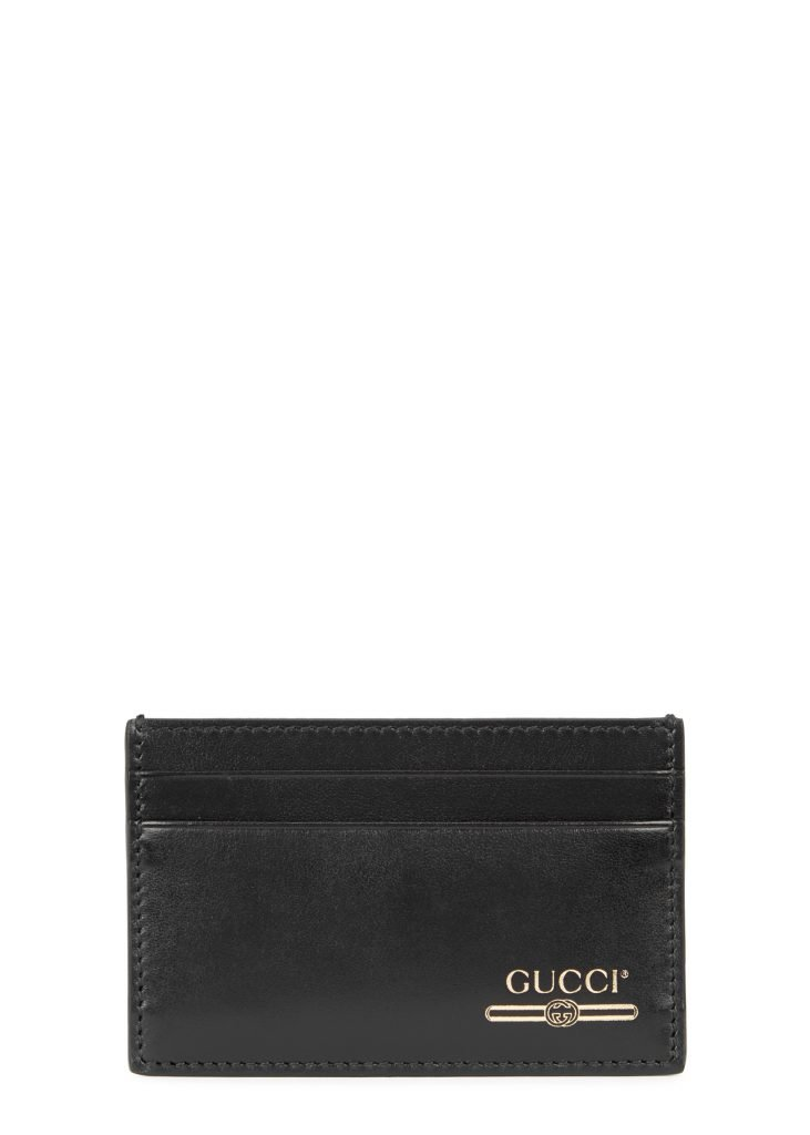 Harvey Nichols Manchester Black logo leather card holder £175 Available in store and online