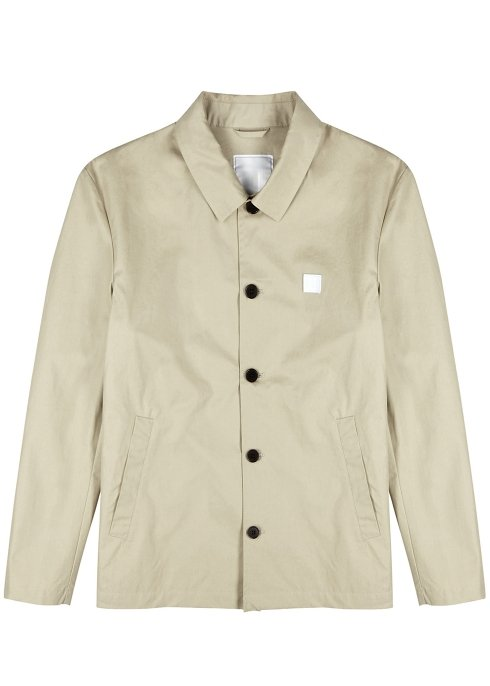 Harvey Nichols Manchester Les Deux Antoine sand cotton twill jacket £200 Available in store and online