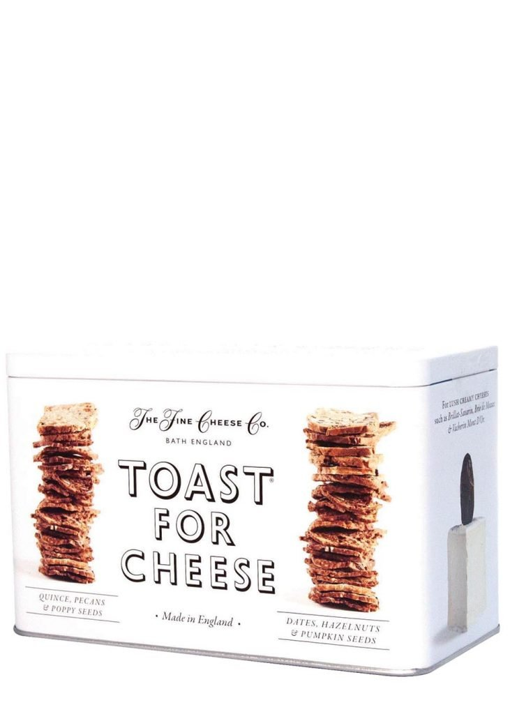 Harvey Nichols Manchester The Fine cheese Company Toast For Cheese Tin £16.95 Avilable in store and online
