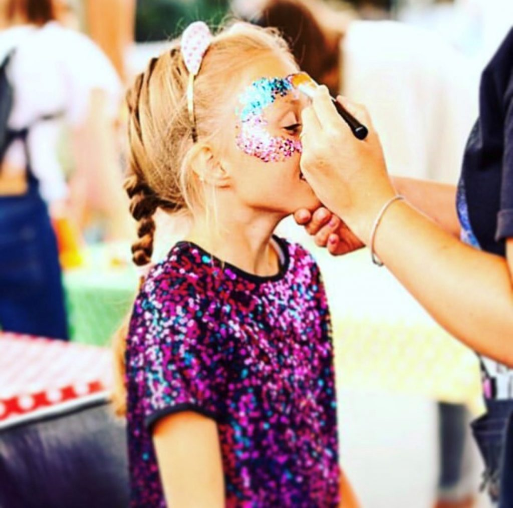 Glitter and More at ParentFolk and Family at The Polo