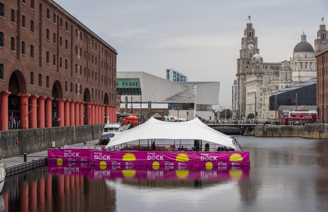 Floating cinema returns to Albert Dock with a spooky Halloween line-up.