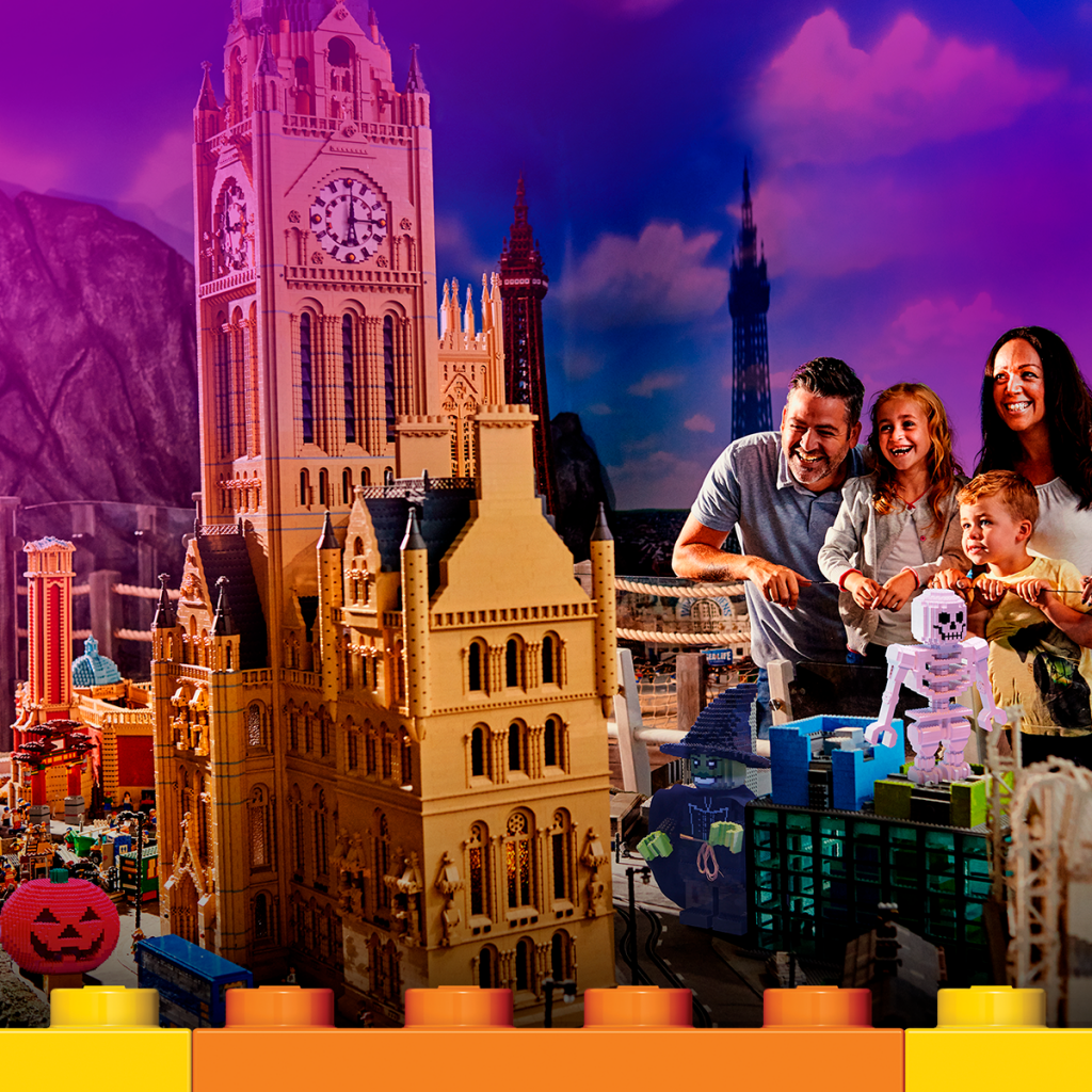 Legoland Discovery Centre Manchesters spook tacular Brick or Treat this Halloween