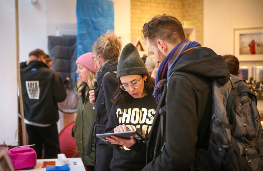 Choose Love opens to sell real products for refugees and give an alternative retail option for Black Friday