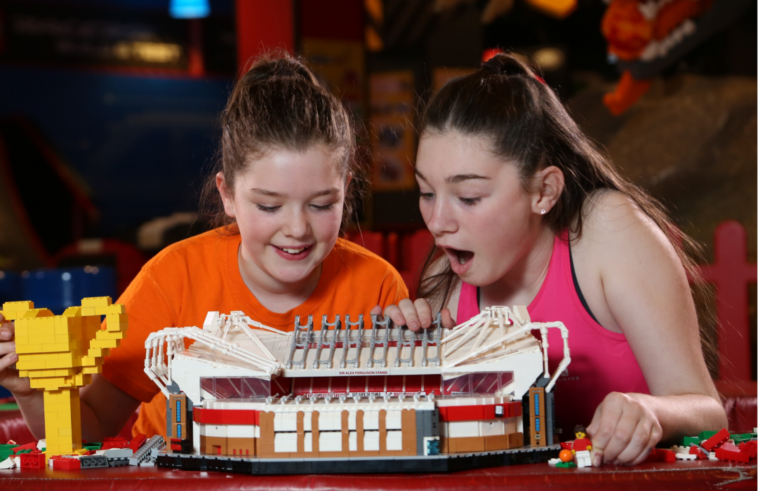 Build United: Legoland Discovery Manchester & Manchester United team up for Half Term