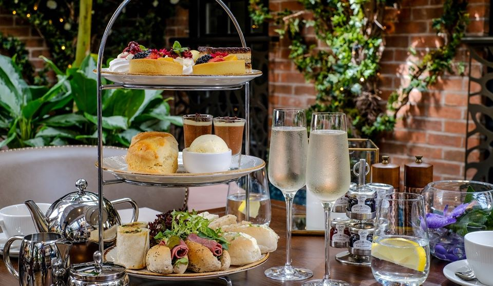Grosvenor Pulford Hotel and Spa Afternoon Tea 1 1