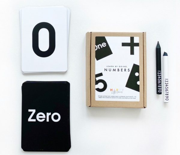Learn By Doing Numbers -Flash Cards