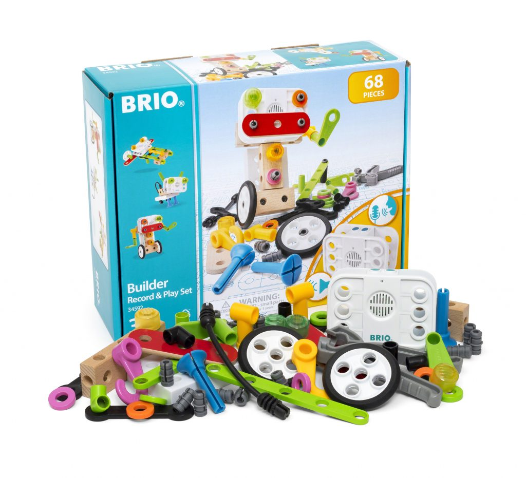 34592 builder record and play set with packaging shadow