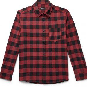 John Buffalo Checked Twill Shirt A.P.C 265