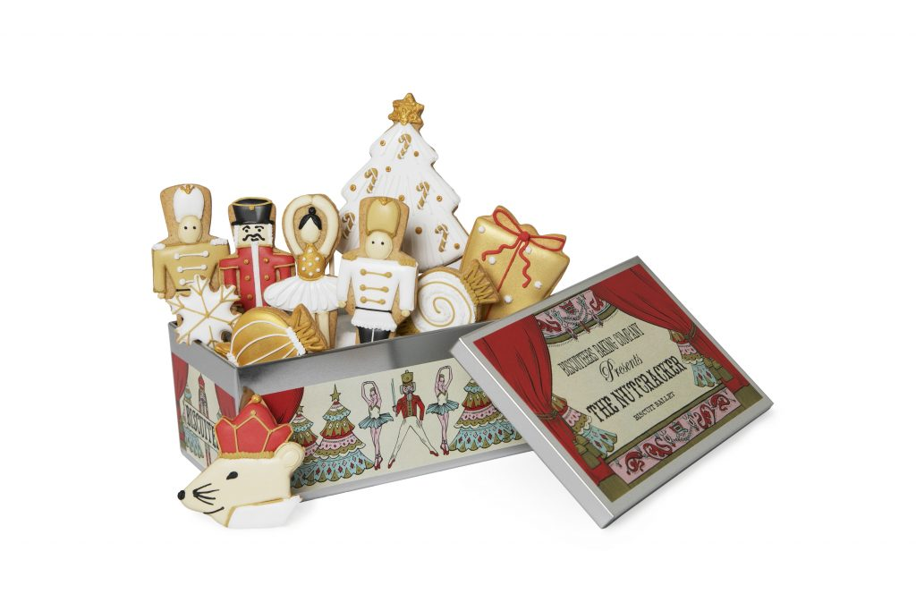 The Nutcracker Tin from The Buscuiteers